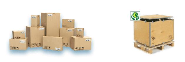 balíková a paletová přeprava